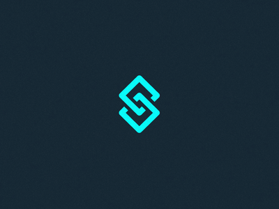 S - logo concept. s letter icon lettering monogram mark logo branding connect simple