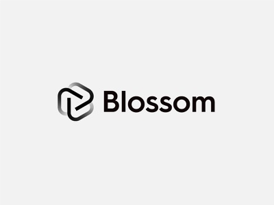 Blossom - Logo Design symbol jeroenvaneerden agency personal identity identity logo blossom