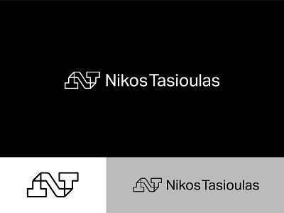NT - Ambigram identity visual identity design branding wordmark creative freelance digital designer nikos symbol lettermark monogram ambigram logo