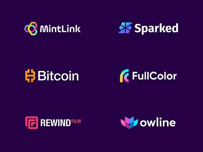 Logofolio - Jeroen van Eerden 2021 logo symbol branding gradient startup finance cryptocurrency crypto bitcoin creative logo logo design o p q r s t u v w q y z a b c d e f g h i j k l m n logo