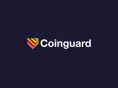 Coinguard - Logo Design🛡️ blockchain service finance protection shield depth layers creative logo crypto logo crypto currency currency cryptocurrency crypto wallet crypto money wallet protect guard coin