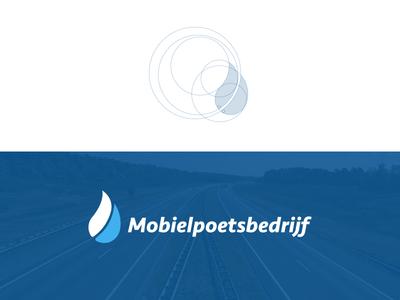 Mobielpoetsbedrijf identity.