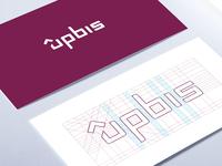 Upbis Logo Construction.
