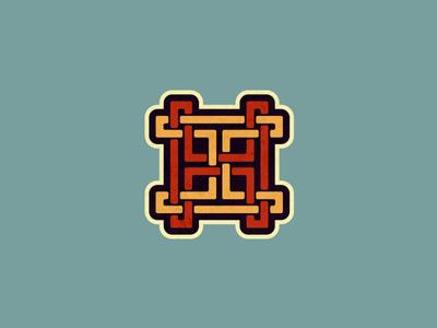 Vintage Monogram. vintage monogram letter letters design lettering h hh logo