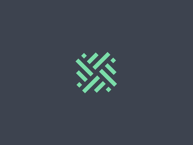 X x mark monogram logo branding letter lettering y symmetry grid statistics numbers