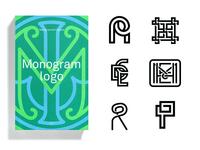 Monogram Logo - Book Publication