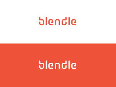 Blendle option.   blendle b clip typo custom letter branding friendly paper news