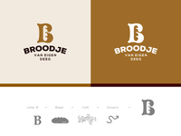 B for Bakery logo concept.