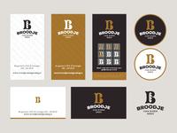 Branding Exploration Bakery branding lettering letter b bake dough bread bakery baker card business stationary