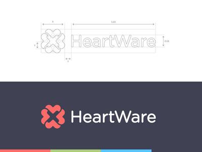 HeartWare identity.