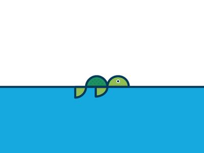 Turtle Lost 404 icon abstract minimal turtles animal error 404 lost turtle