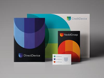 CreditDevice Stationary  stationary finance credits grid icon logo modern abstract minimal symbol device credit