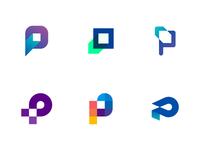 P Monogram - Unused marks