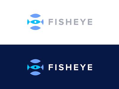 Fisheye Media grid bubble effect fisheye identity logo corporate productions media eye fish