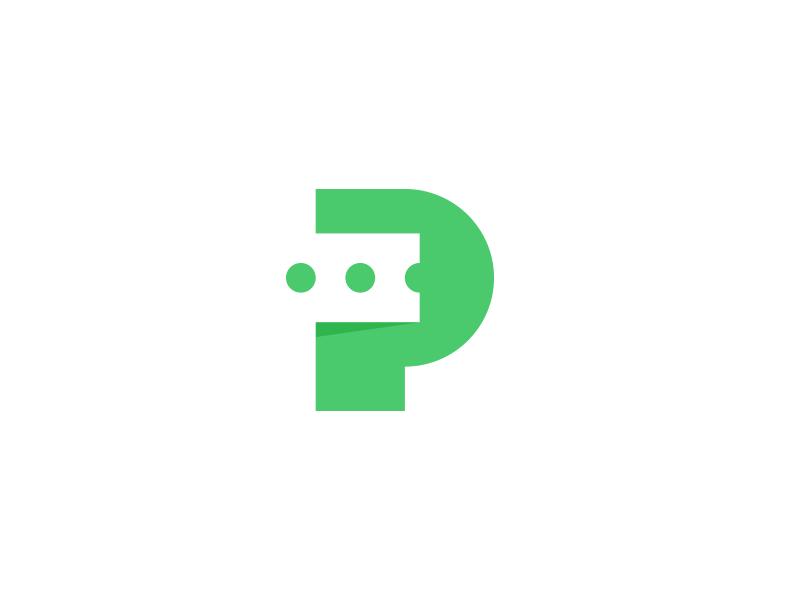 Ticket p monogram