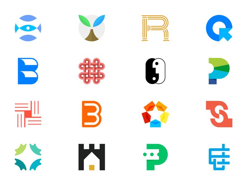 Portfolio 2015/2016 smart concept minimal lettering trademark symbol monogram mark identity logo portfolio