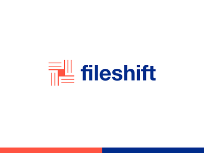 fileshift f monogram repeat filed shifts shifted files documents document shift file logo
