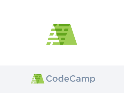 CodeCamp identity grid tent school technical geek codes programmer camp code