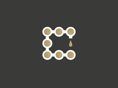 C for Coffee drink logo bar cappuccino addict caffeine espresso machine coffee c