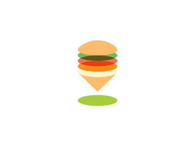 Burger Locator burger dinner lunch pin point check bar local eat food finder locate