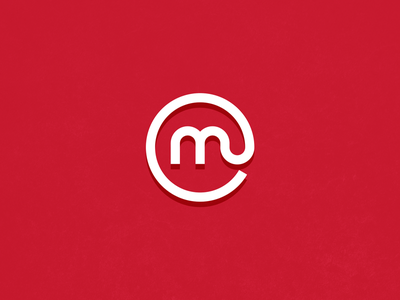 Media Classified letters @ identity publish files m c monogram at media classified