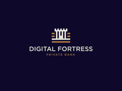 Digital Fortress credit save castle transfer wired wire money finance banking bank fortress digital