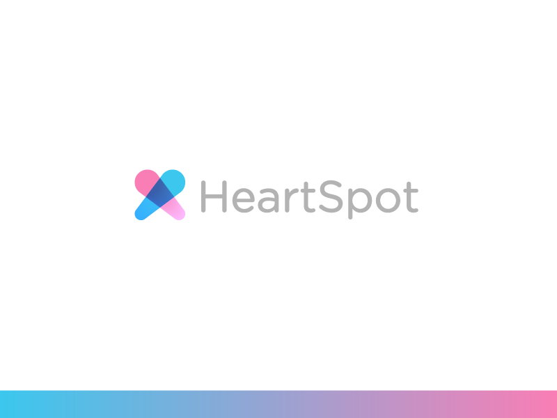 HeartSpot icon dating date female male sex connect love logo heartspot spot heart