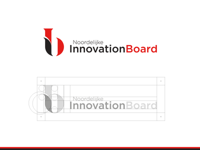 Northern Innovation Board type letters ib monogram branding identity logo netherlands board innovation northern