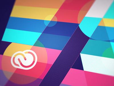 Digital Tribute to Adobe Creative Cloud. illustration illustrator artwork abstract adobe creative cloud tribute digital
