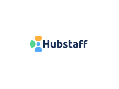 Hubstaff chat pin users user cloud concept mark icon identity logo staff hub