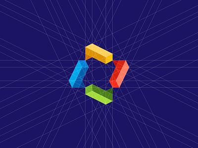 Interaction Gridwork branding freelance medium 2017 identity logo dribbble community interaction interact