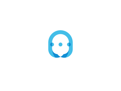 Social Logo media intranet software talk communicate inner inhouse chat cloud bubble logo social