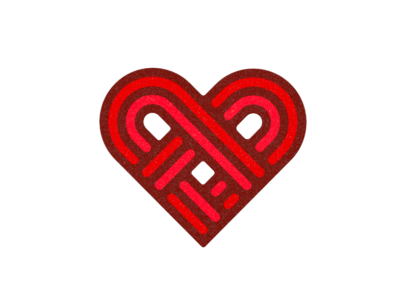 Heart texture dribbblers dribbble loved love date match valentine heart