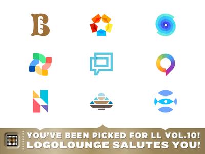 Logolounge 10 - Book Selections. portfolio logos 10 ll10 publish book logolounge lounge logo