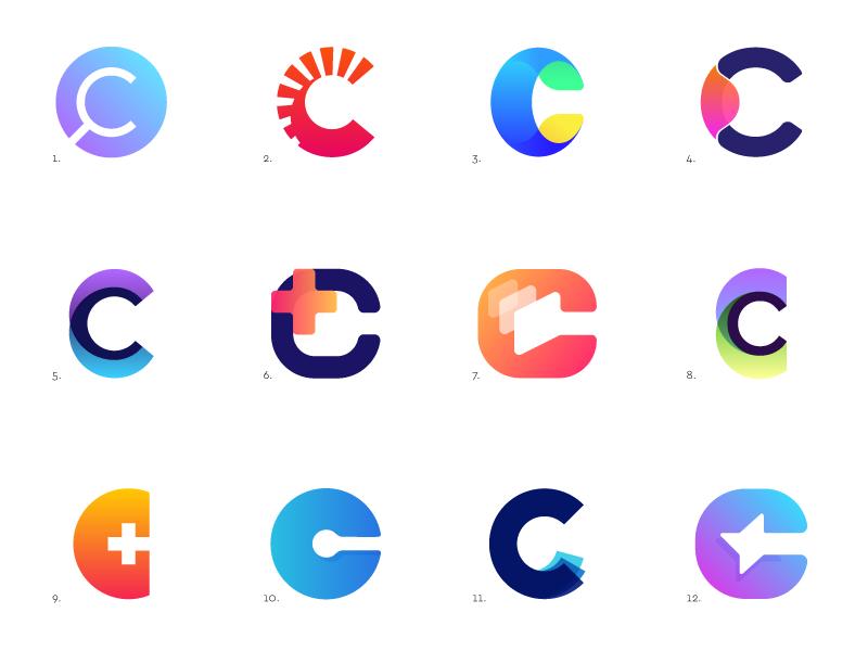 C Logos by Jeroen van Eerden | Dribbble | Dribbble