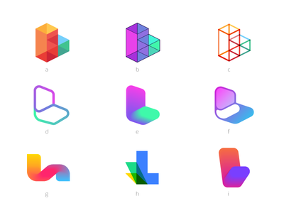 Lix - Logo Variations fun bright transparency abstract blocks block learn student textbook text logo lix