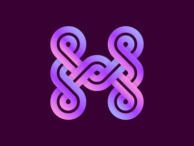 H Logo - Infinity Looping.