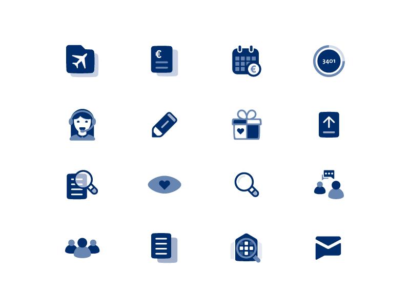 Menzis - 2016 2017 communicate branding service netherlands dutch insurance illustration icons icon health menzis