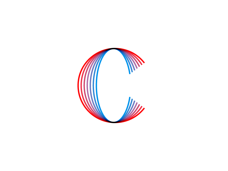 C Logo by Jeroen van Eerden | Dribbble | Dribbble