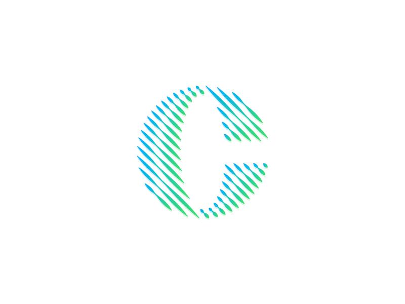C Global - Logo Design logo global b2b bank loop circles connect money payment finance globe c