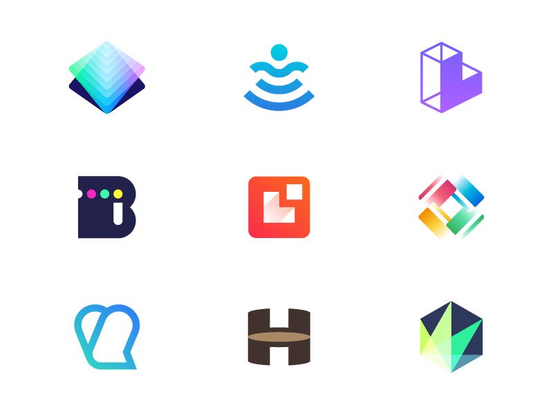 Logofolio 2017 marks logofolio portfolio freelance branding icon identity logos logo