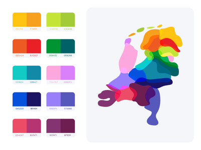 Flat UI Colors 2 - The Netherlands code ui design dutch jeroen country geographic map netherlands colors color ui flat