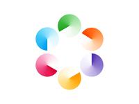 Logo Concept - 6 Cycles / Hexagon