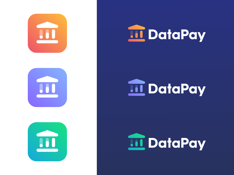 DataPay pillar pay money trust analyze charts chart building finance bank data