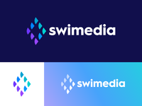 Swimedia - Logo Design