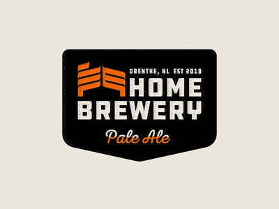 HomeBrewery   Badge Design
