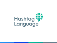 Hashtag Language / Logo Design