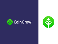 CoinGrow - Logo Design