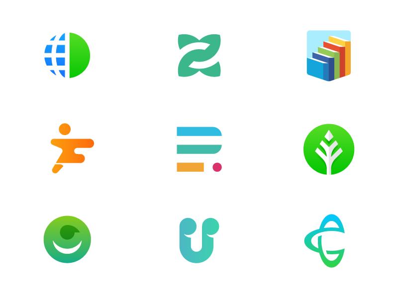 Logofolio - Part 4 crypto globe minimal mark branding brand smart portfolio logo identity logofolio