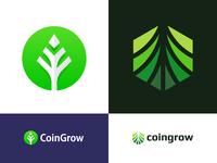 CoinGrow - Logo Design
